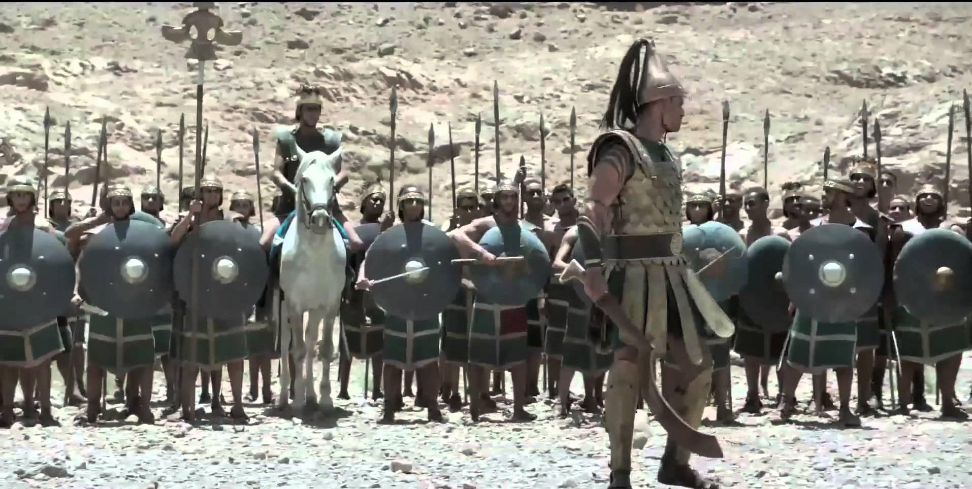 DAVİD AND GOLİATH
