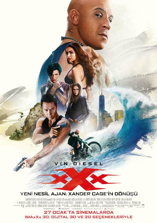 Yeni Nesil Ajan:Xander Cage'in Dönüşü