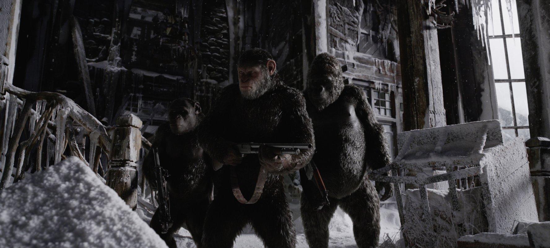 Maymunlar Cehennemi Savaş Film Eleştirisi Ve Yorumlar Ortakoltuk